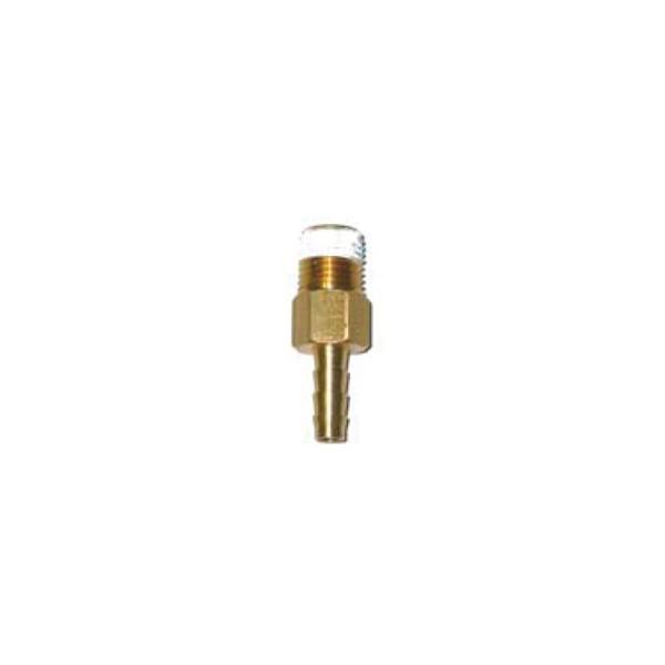 Outlet fitting with check valve hose barb lancer direct