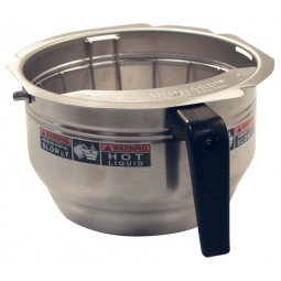 Funnel, stainless Gourmet C