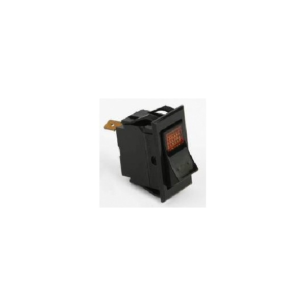 Coffee Maker Switch Replacement : Switch on/off, amber - LANCER DIRECT