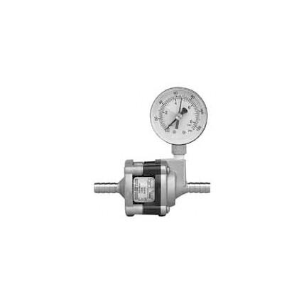 65 psi water pressure reducer valve with ss body pressure gauge 3 8 ss barb inlet outlet. Black Bedroom Furniture Sets. Home Design Ideas