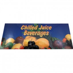 """""""Chilled Juice"""" bonnet decal for 1500E, front"""