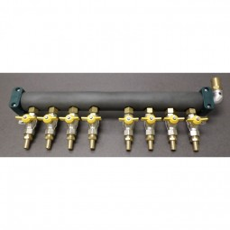 Glycol manifold assy SS return, 8 way