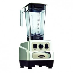 Omega variable speed blender with pulse, 3 HP, 48 oz unbreakable copolyester container