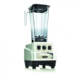 Omega variable speed blender with pulse, 3 HP, 82 oz unbreakable copolyester container