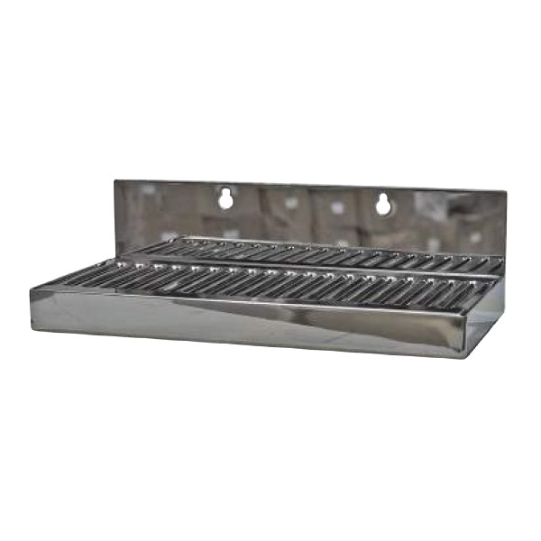 Stainless Steel Wall Mounted Drip Tray No Drain 10 Quot X 5 Quot X