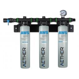 Triple filter, 125,000 gal, 6 GPM, 1 micron