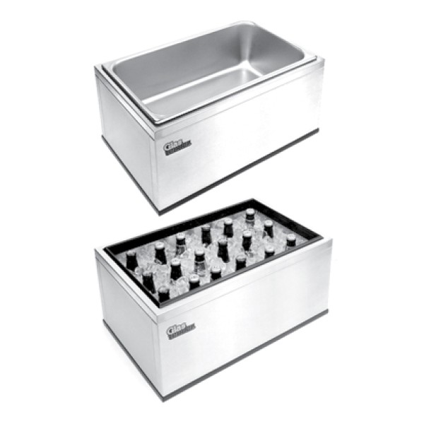Countertop Ice Maker With Storage : Portable countertop ice bin 22