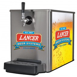 Breeze ice cooled beer dispenser