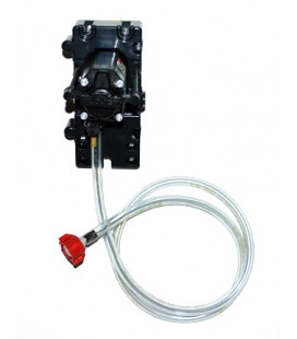 "Flojet 1 pump system CC adapters 1/4"" SS barb straight"