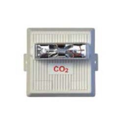 Horn/Strobe LED for outdoor use - Must be CO2 certified to install LogiCO2 alarms