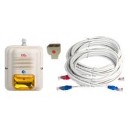 Amber horn/strobe LED expansion kit for MK9 or MK10 system - Must be CO2 certified to install LogiCO2 alarms