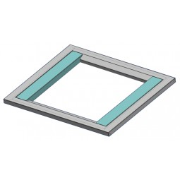 """Adapter universal 3"""" filler span (teal colored parts in picture)"""