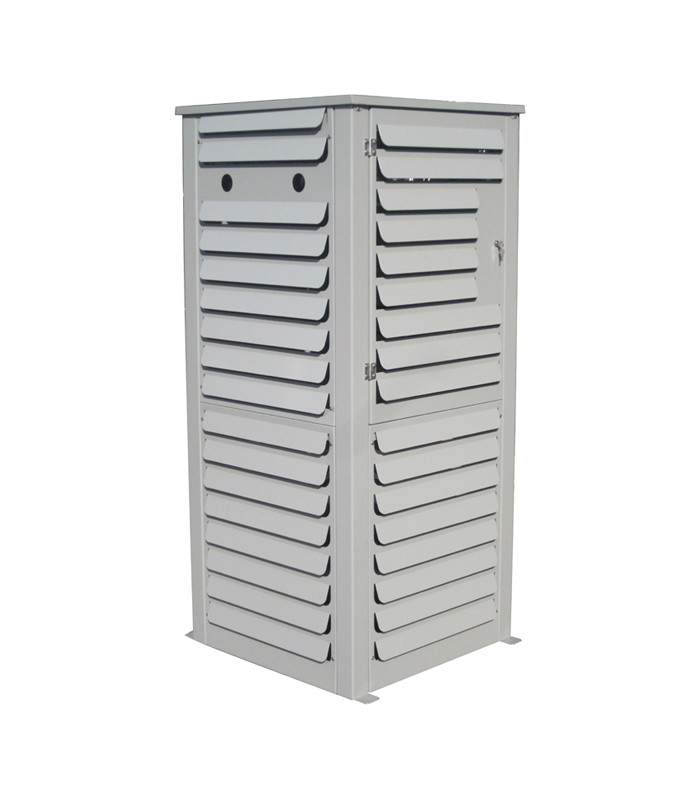 Outside storage cabinet