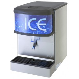 ID 4400 nugget ice only dispenser with T&S water valve 22""