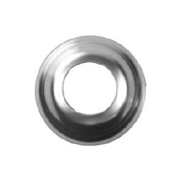 Flange for beer shank, stainless