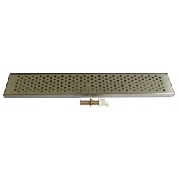 "Countertop drip tray 76"" x 8"" x .75""H"