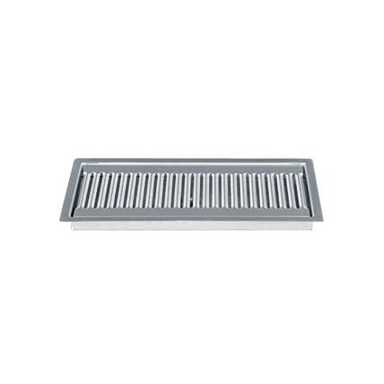 Flush Mount Drip Tray 12 Quot X 5 Quot Brushed Stainless Finish