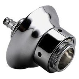 """Nipple shank assembly with fixed sleeve and SS flange 3/16"""" bore"""