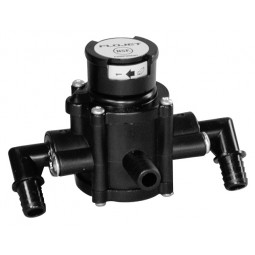 Flojet transfer valve, swivel elbow
