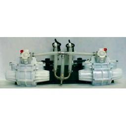 SHURflo brix pump autofill system, double product