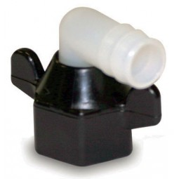 SHURflo 1/2 swivel nut x 3/8 barb elbow fitting