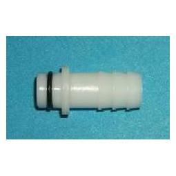 "SHURflo brix pump liquid inlet 1/2"" plastic barb straight"