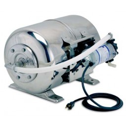 """Maxi boost syst, 6 gal tank, 230 VAC, 90 psi, 3/8"""" SS barb inlet/outlet"""