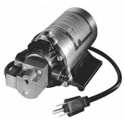 "Replacement electric beverage delivery system pump, 1/2""-14 NST straight thread, 1.25 GPM, 60 psi, 24VDC, no fittings"