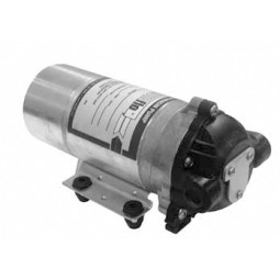"SHURflo carbonator pump, high pressure, 100 PSI bypass, 1.5 GPM, 3/8""-18 FPT, no shutoff switch, non-corded"