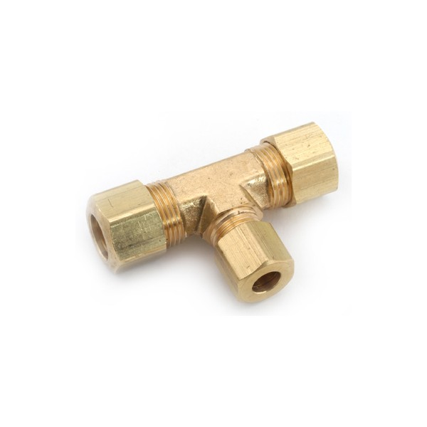 Brass tee compression lancer direct