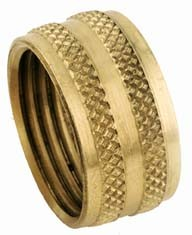 Brass female garden hose cap 34 LANCER DIRECT