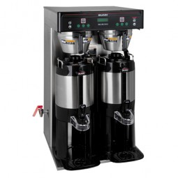 ICB-DV Twin Tall Brewer, side faucet