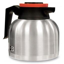 1.9 liter economy thermal carafe, orange lid
