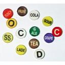 Bar Hose Button Caps